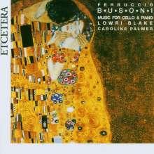Ferruccio Busoni (1866-1924): Kleine Suite f.Cello & Klavier op.23, CD