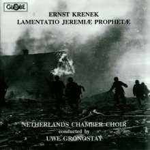 Ernst Krenek (1900-1991): Lamentatio Jeremiae Prophetae op.93, CD