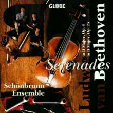 Ludwig van Beethoven (1770-1827): Serenade für Flöte,Violine,Viola op.25, CD
