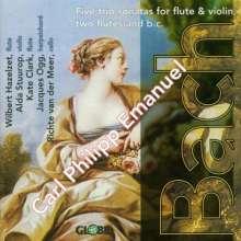 Carl Philipp Emanuel Bach (1714-1788): Triosonaten Wq.143,146,147,150,162, CD