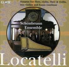 Pietro Locatelli (1695-1764): Sonaten f.2 Violinen & Bc op.8 Nr.7 & 8, CD