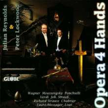 Julian Reynolds & Peter Lockwood - Opera 4 Hands, CD
