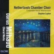 Darius Milhaud (1892-1974): Chorwerke a capella, CD