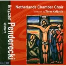 Krzysztof Penderecki (geb. 1933): Stabat Mater, CD