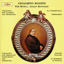 Gioacchino Rossini (1792-1868): Variationen f.Klarinette & Orchester, CD