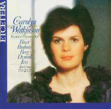Carolyn Watkinson singt Lieder, CD