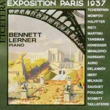 Bennett Lerner - Exposition Paris 1937, CD