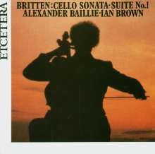 Benjamin Britten (1913-1976): Suite für Cello solo Nr.1 op.72, CD