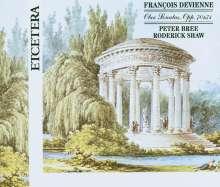 Francois Devienne (1759-1803): Sonaten für Oboe & Klavier opp.70 & 71, 2 CDs