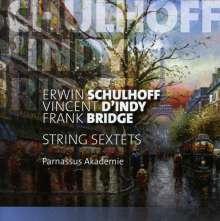 Erwin Schulhoff (1894-1942): Sextett für Streicher, CD