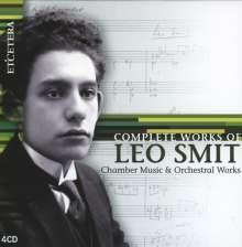 Leo Smit (1900-1943): Sämtliche Werke, 4 CDs