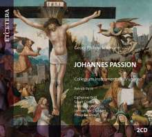 Georg Philipp Telemann (1681-1767): Johannes-Passion (1745), 2 CDs