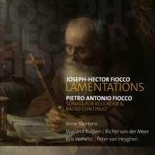Joseph Hector Fiocco (1703-1741): Lamentationes, CD