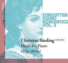 Christian Sinding (1856-1941): Klavierstücke, CD