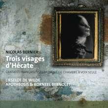 Nicolas Bernier (1664-1734): Kantaten, CD