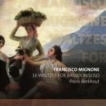 Francisco Mignone (1897-1986): 12 Walzer für Fagott solo, CD