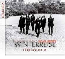 Franz Schubert (1797-1828): Winterreise D.911 (für Gesangsensemble & Klavier), CD