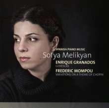 Sofya Melikyan - Spanisch Piano Music, CD