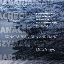 Duo Sluys - Sonatas for Violin and Piano, CD