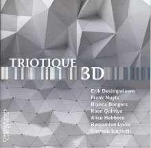 Triotique - 3D, CD