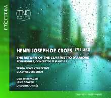 Henry-Joseph de Croes (1758-1842): Symphonien Nr.1 Es-Dur & Nr. 2 D-Dur, 2 CDs