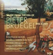 Music from the Era of Pieter Bruegel The Elder, 7 CDs