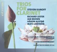 Steven Kanoff - Trios for Clarinet, CD