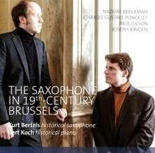 """Musik für Saxophon & Klavier """"The Saxophone in 19th Century Brussels"""", CD"""