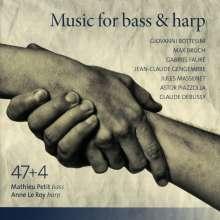 Mathieu Petit & Anne Le Roy - Music für Bass & Harp, CD