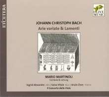 Johann Christoph Bach (1642-1703): Arie variate & Lamenti, CD