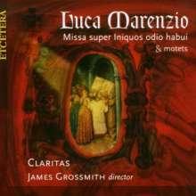 """Luca Marenzio (1553-1599): Missa super """"Iniquos odio habui"""", CD"""