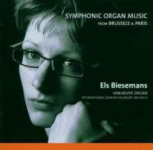 Els Biesemans - Symphonic Organ Music, CD
