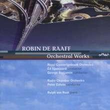 Robin de Raaff (geb. 1968): Klavierkonzert, CD