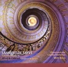 Lambert de Sayve (1549-1614): Geistliche Vokalwerke, CD