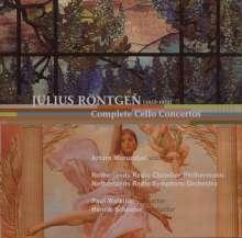 Julius Röntgen (1855-1932): Cellokonzerte Nr.1-3, CD