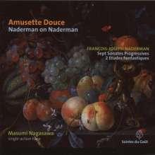 Francois-Joseph Naderman (1773-1835): Sonates Progressives Nr.1-7 für Harfe, CD