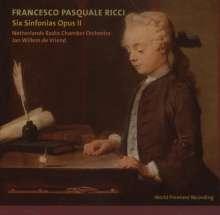 Francesco Pasquale Ricci (1732-1817): Symphonien op.2 Nr.1-6, CD