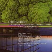 Theo Verbey (geb. 1959): Fractal Symphony, CD