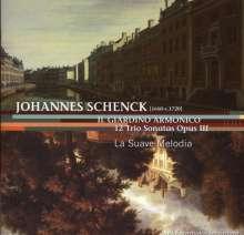 "Johannes Schenck (1656-1712): Triosonaten op.3 Nr.1-12 ""Il Giardino Armonico"", CD"