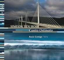 Simeon ten Holt (1923-2012): Canto Ostinato für Harfe, CD