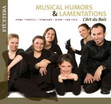 Musical Humors & Lamentations, CD