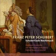 """Franz Schubert (1797-1828): Männerchöre """"Schubertiade Nachtmusik"""", CD"""
