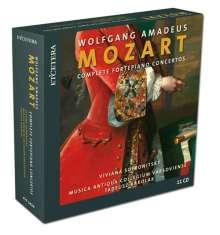 Wolfgang Amadeus Mozart (1756-1791): Sämtliche Klavierkonzerte, 11 CDs
