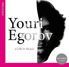 Youri Egorov - A Life in Music, 10 CDs
