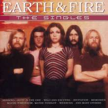Earth & Fire: The Singles, CD