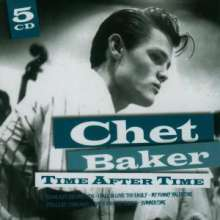 Chet Baker (1929-1988): Time After Time, 5 CDs