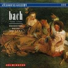 Johann Sebastian Bach (1685-1750): Orchestersuiten Nr.1-3, CD