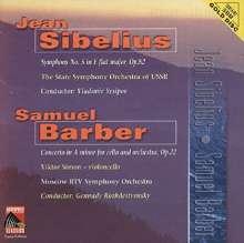 Samuel Barber (1910-1981): Cellokonzert op.22, CD