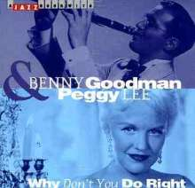 Benny Goodman & Peggy Lee: Why Don't You Do Right, CD