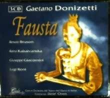 Gaetano Donizetti (1797-1848): Fausta, 3 CDs